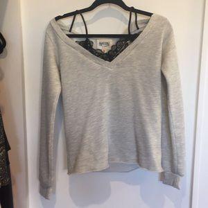 Long sleeve grey layer top